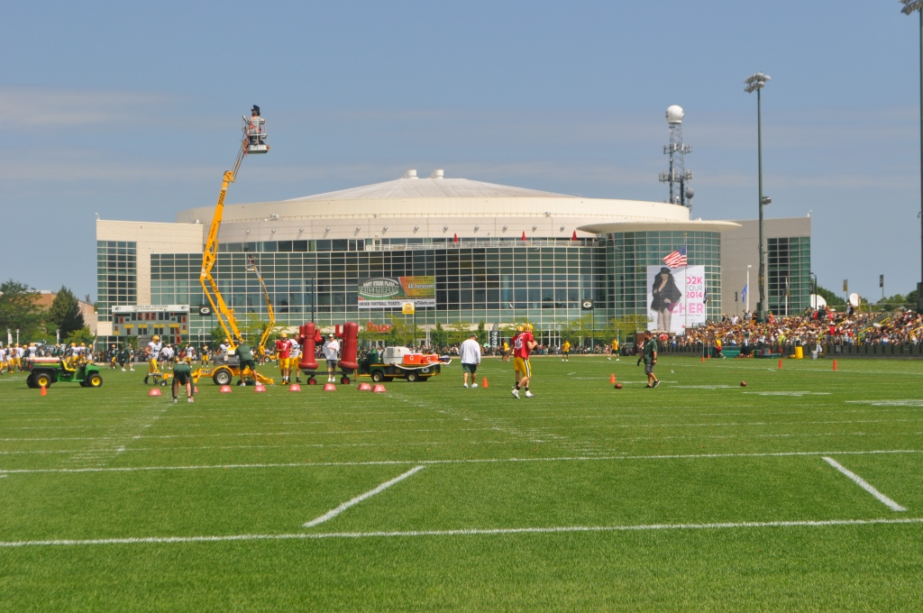 Green Bay, WI: Packers Training Camp