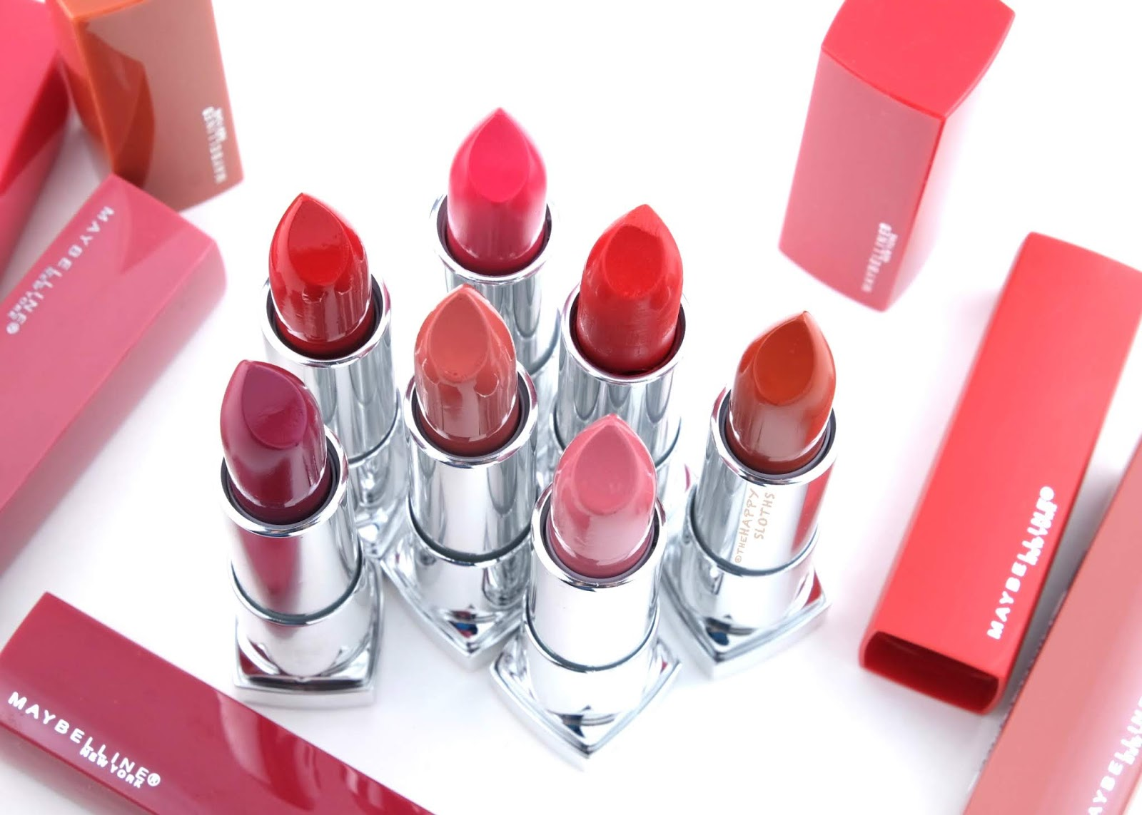 Maybelline | Made for All Lipstick by Color Sensational: Review and Swatches