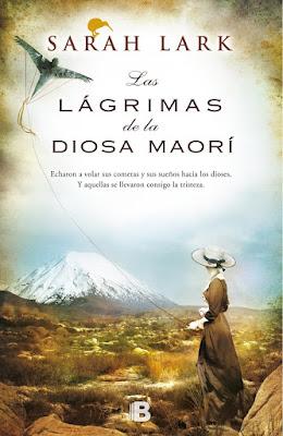 """Las lágrimas de la diosa maorí"" de Sarah Lark"