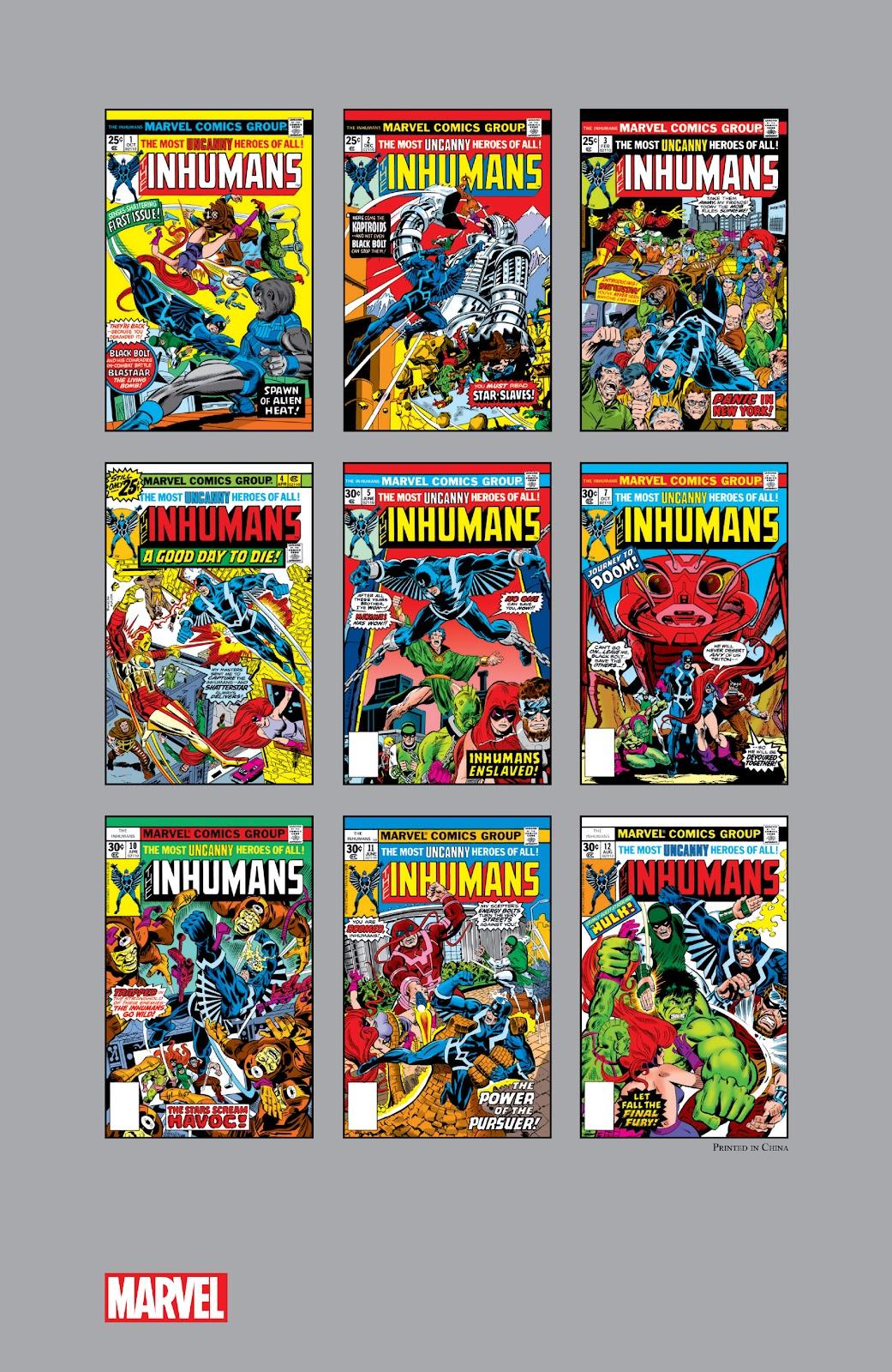 Read online Marvel Masterworks: The Inhumans comic -  Issue # TPB 2 (Part 3) - 119