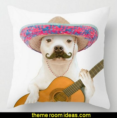 TITO PANCHITO throw pillow   Hipster decorating style - hipster decor - Hipster wall art - Hipster room decor - Hipster bedding - urban decor - retro decor - vintage cool decor - Strampunk - hipster bedroom ideas - Hipster home decor -   Hipster gifts - Marquee signs - hipster style quirky fun decor - hipster bedroom decorating ideas