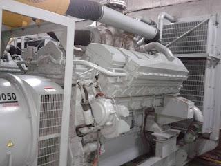 melayani service genset mesin diesel
