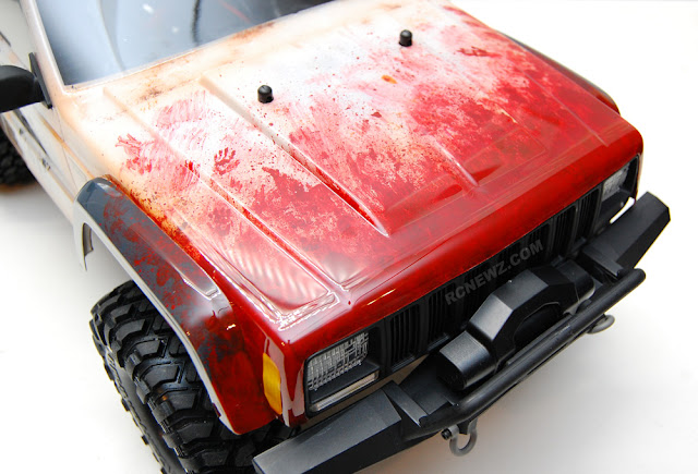 Traxxas TRX-4 bloody paint