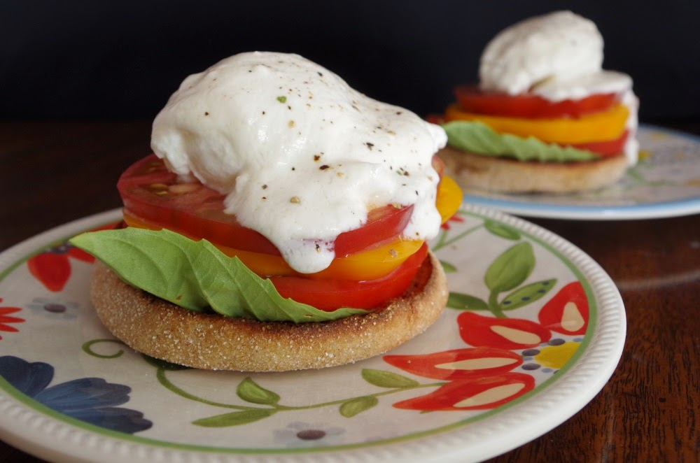 Heirloom Eggs Benedict