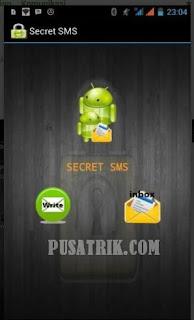 Cara Mengirim SMSRahasia Dengan Double Protection Di Android