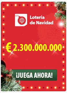 probabilidades loteria de navidad de españa 2018