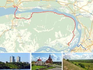 Самарские велосипедные маршруты