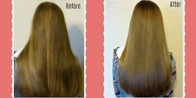 Hair cut video, long hair with layers