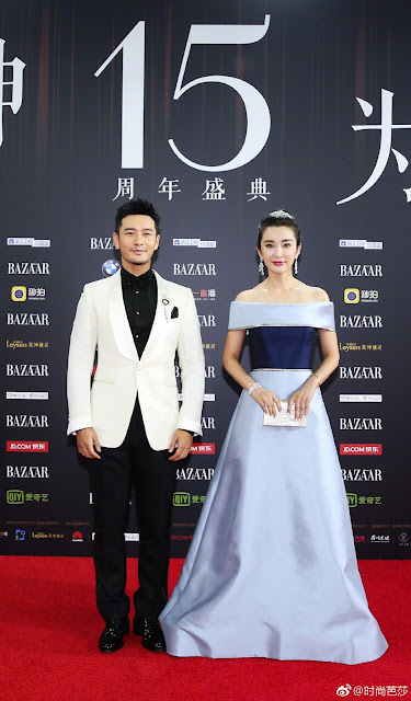 Huang Xiaoming Li Bing Bing  Red Carpet