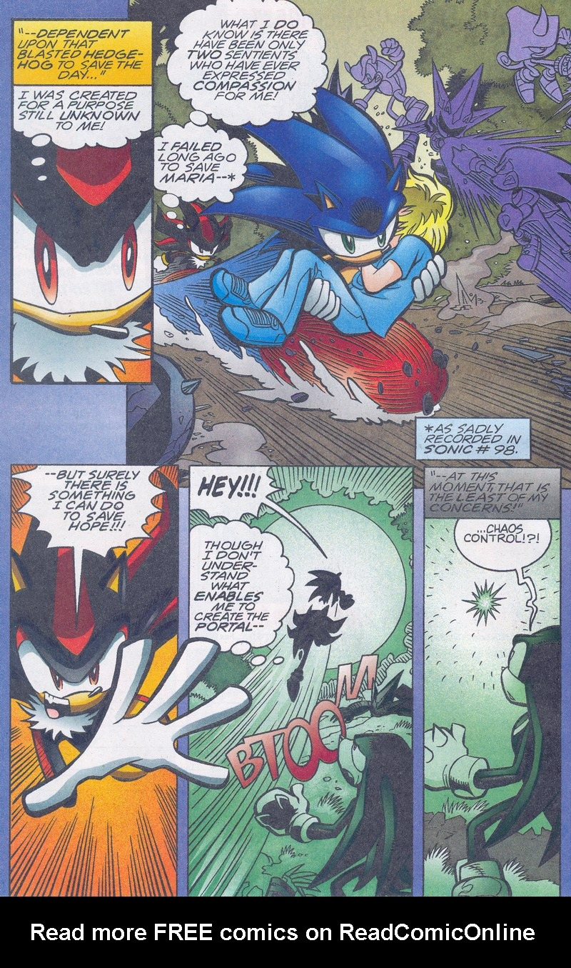 Read online Sonic The Hedgehog comic -  Issue #159 - 7