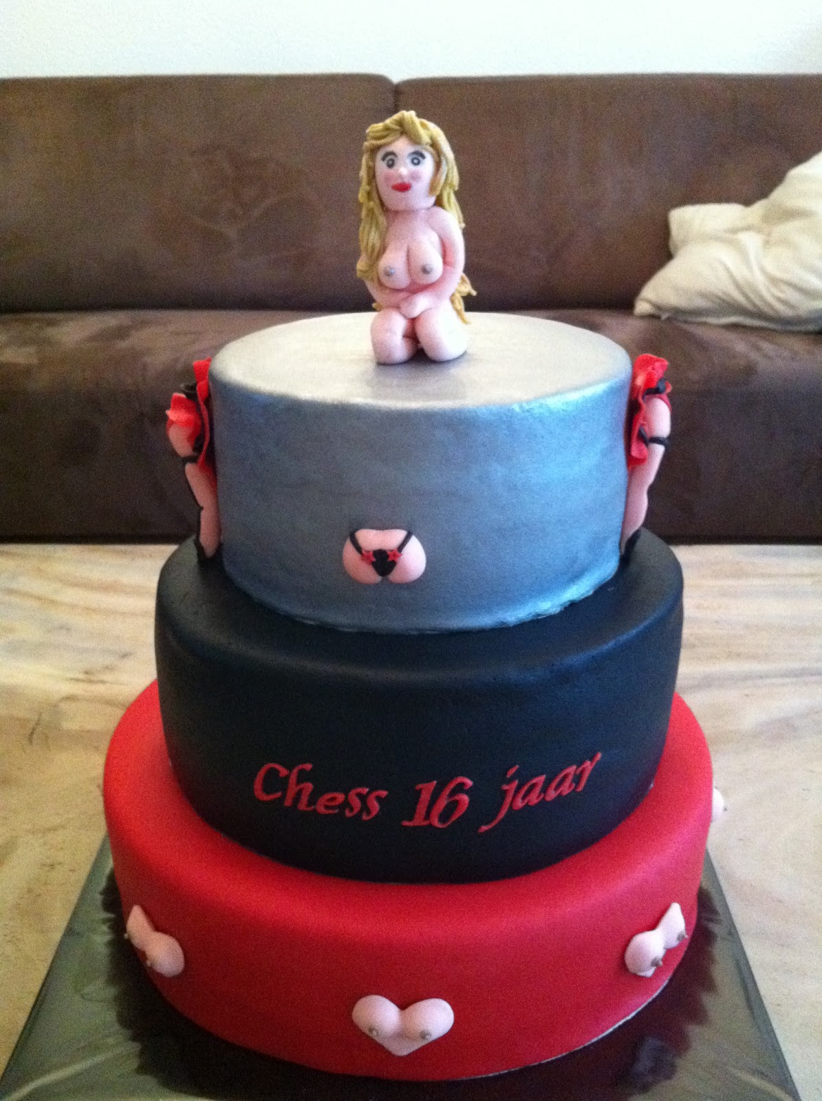Sweet Sixteen Taart