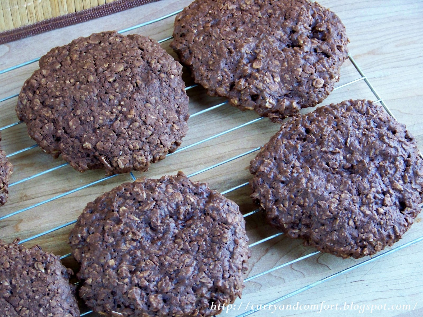 Kitchen Simmer Giant Chocolate Oatmeal Ice Cream Sandwiches
