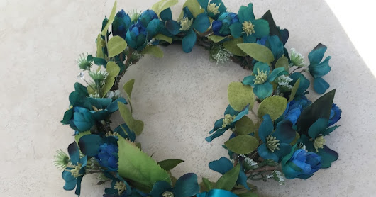 Silk Flower Garland