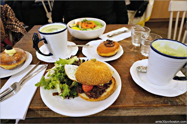 Cafetería Maman en Nueva York