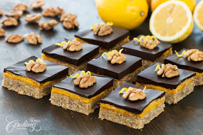 Walnut Lemon Bars