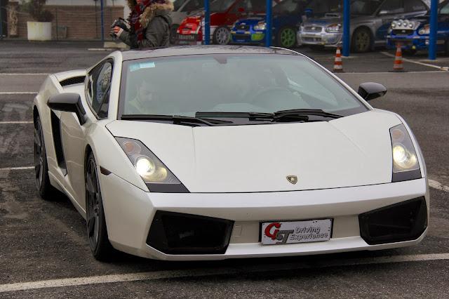 All I Want For Christmas is a White Lamborghini