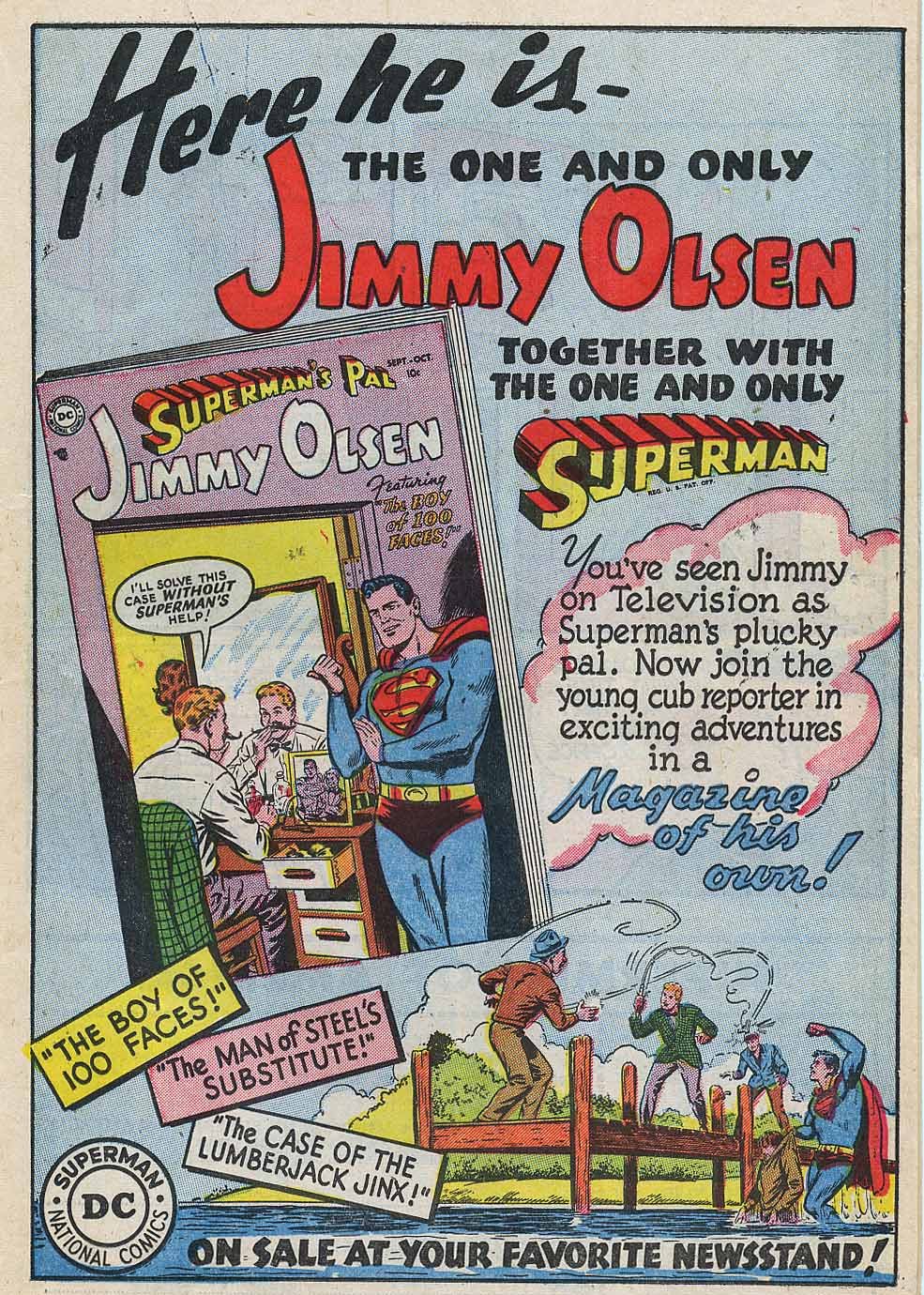 Read online Action Comics (1938) comic -  Issue #196 - 23