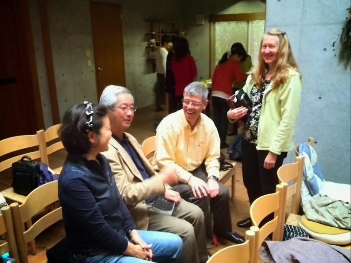 大和郷にある教会: (4)34年ぶりの再会