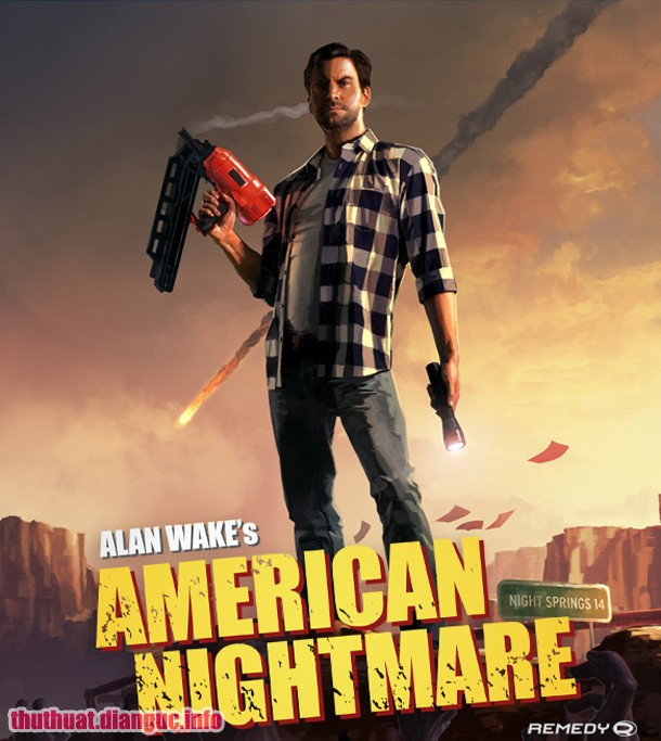 Download Game Alan Wake's American Nightmare BLACK BOX Fshare