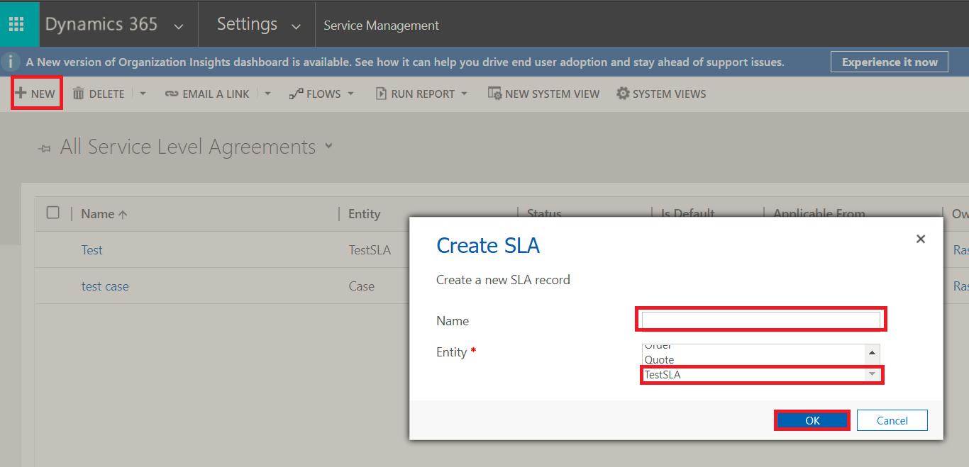 How To Apply Enhanced SLA For Custom Entities Inside Dynamics 365