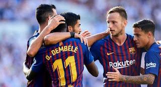 Леганес - Барселона прямая трансляция 26/09 в 21:00