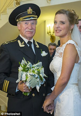 84 year old actor marries 34 year old model