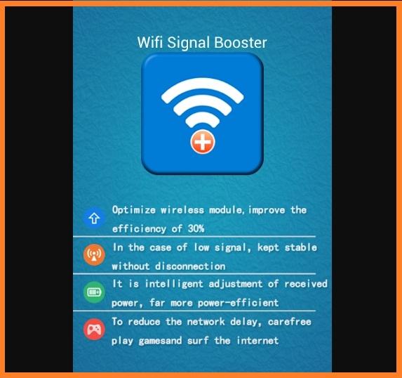 Aplikasi #4 Penguat Sinyal WiFi Android Dengan WiFi Signal Booster + Extender