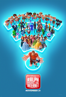 Ralph Breaks the Internet 2018 Dual Audio HDRip 480p ESub x264