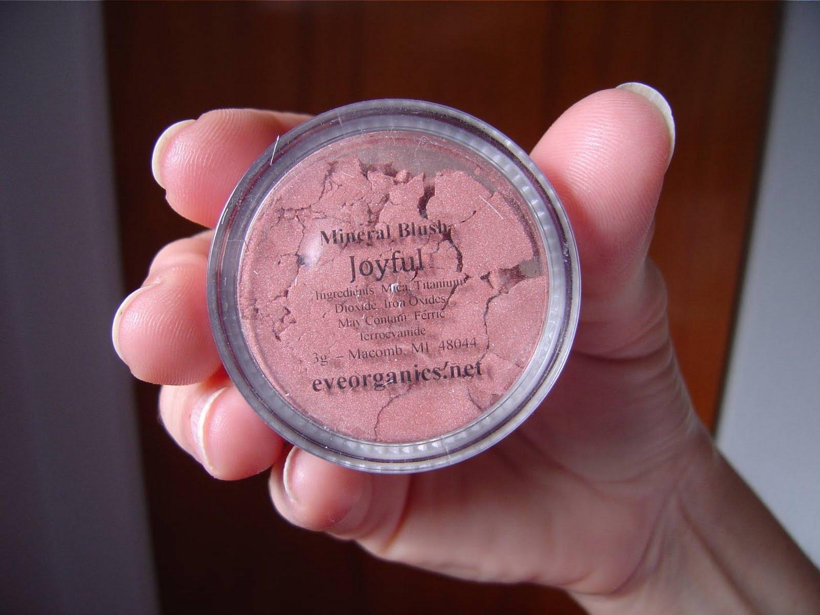 Eve Organics Mineral Makeup Joyful Blush