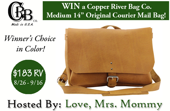 Copper River Bag Co. Leather Messenger Bag Giveaway