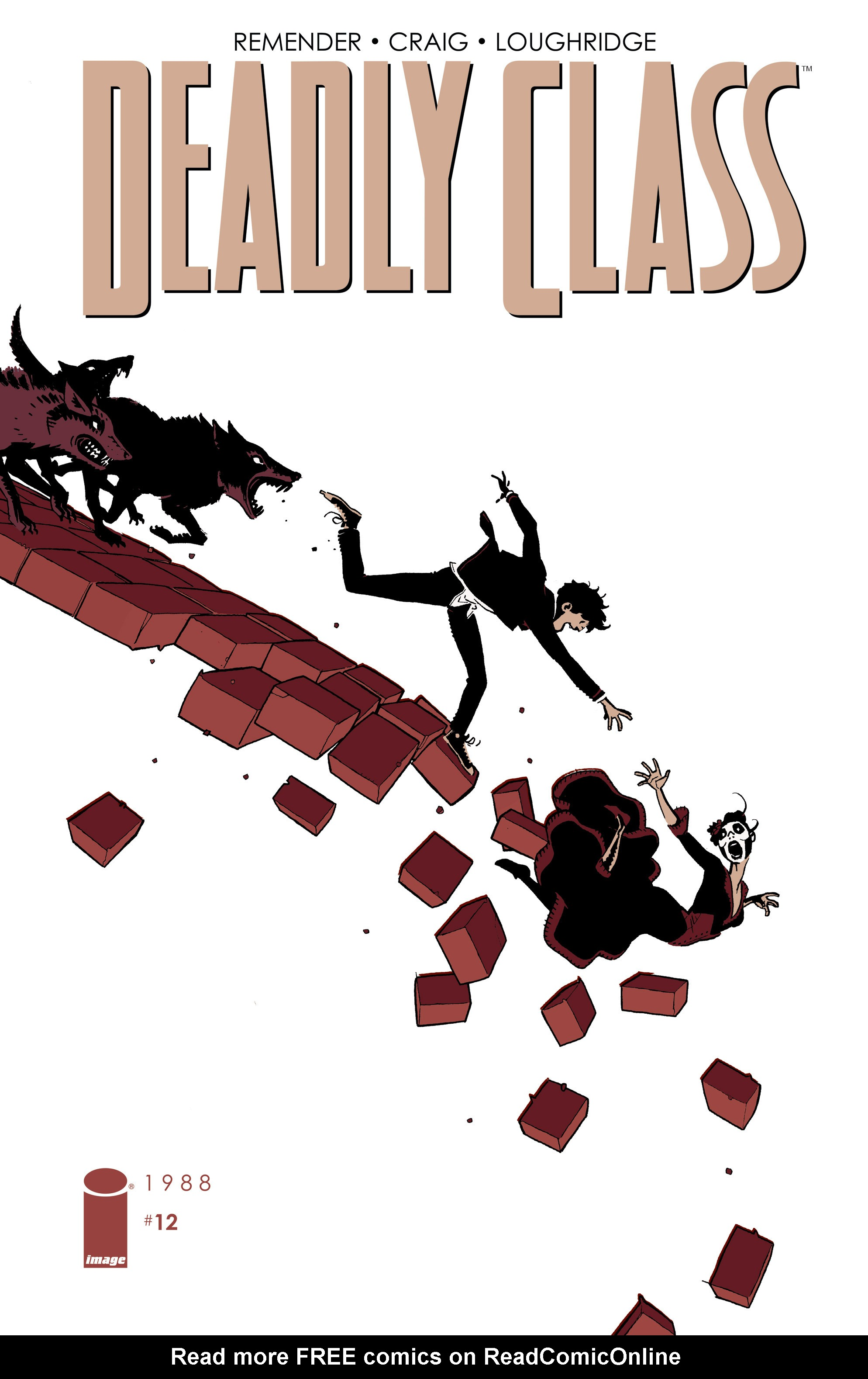Deadly Class 12 Page 1
