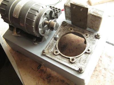 компрессор в процессе сборки