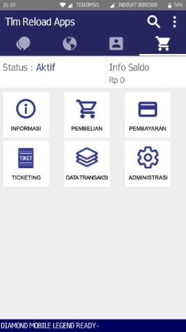 Download Aplikasi Android Resmi TLM Reload Untuk Jualan Pulsa Kuota Murah