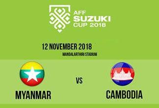 Myanmar vs Cambodia AFF Suzuki 2018 12.11.2018