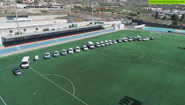 El Ayuntamiento de Los Llanos de Aridane culmina el proceso de renovación integral de la flota municipal de vehículos