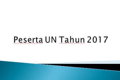 Peserta UN Tahun 2017