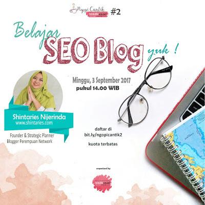 Trik SEO super gambang untuk blog