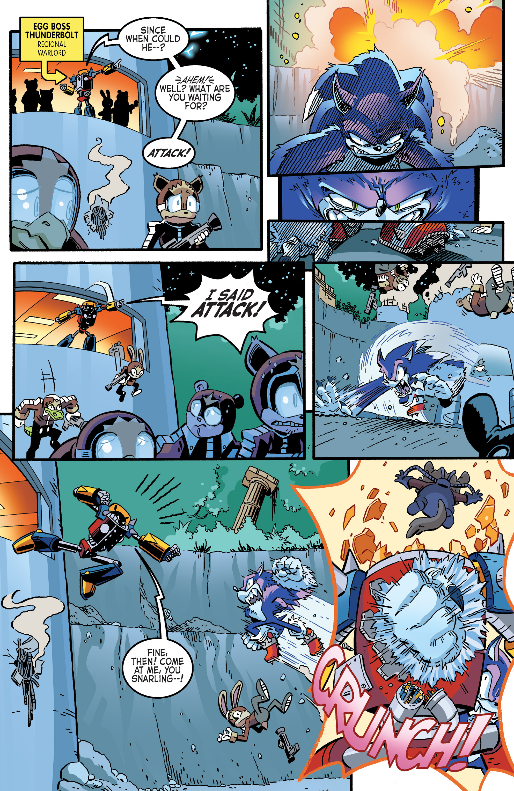 Read online Sonic The Hedgehog comic -  Issue #265 - 5