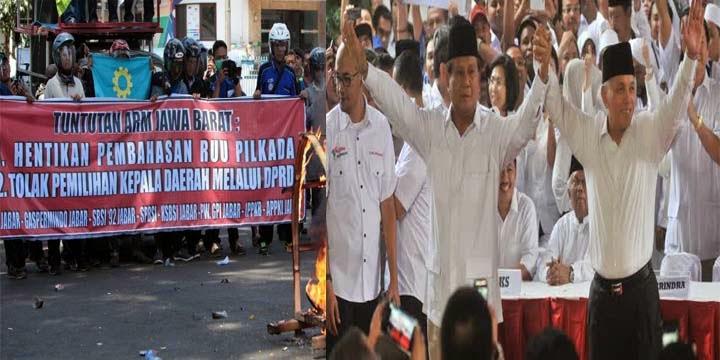 Masyarakat menolak adanya RUU Pilkada dan UU MD