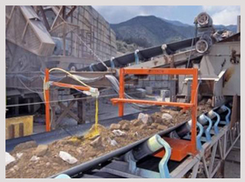 metal detector for coal, cement, timber, etc tectron