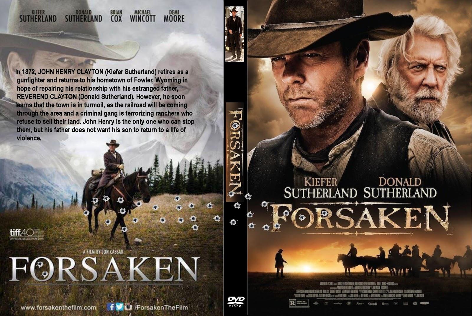 Baixar Forsaken BDRip Dual Áudio Forsaken  282015 29 R0   Cover DVD Movie