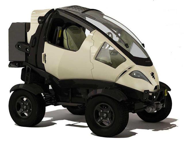 Mobil Unik Lucu Beda Dari Mobil Biasanya