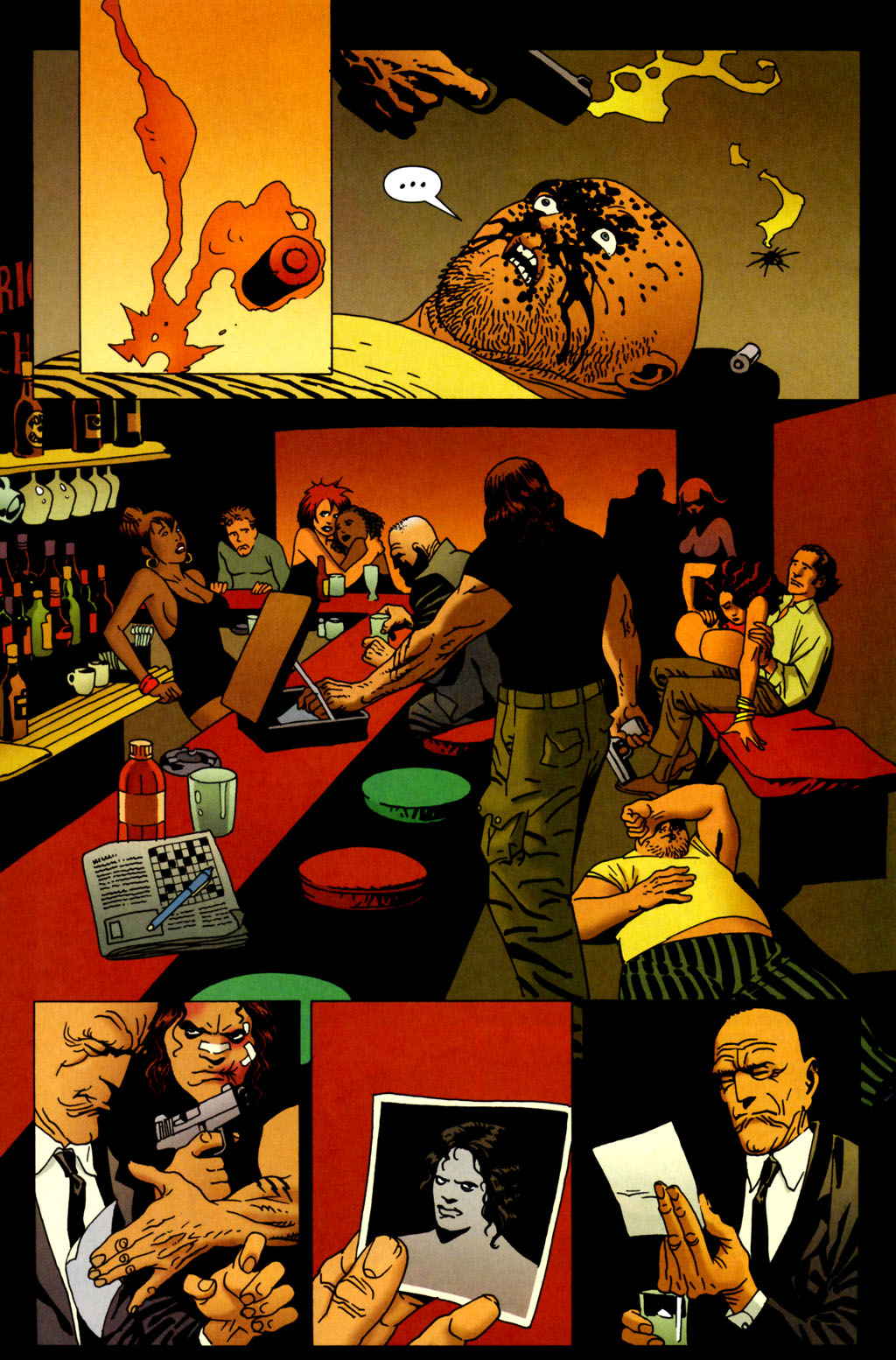 Read online 100 Bullets comic -  Issue #64 - 19