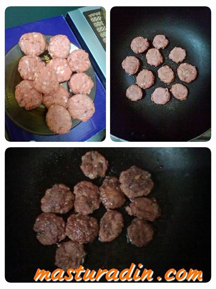 homemade mini burger dengan menggunakan roti gardenia, resepi menggunakan roti, mini burger malaysia