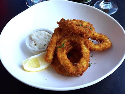 Fried calamari at Hurricane's Grill Bondi Beach Sydney