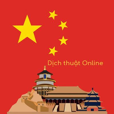 Dịch thuật tiếng Trung Quốc online