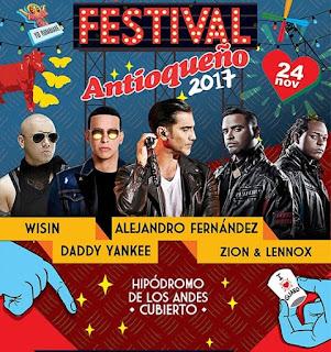 FESTIVAL ANTIOQUEÑO Bogotá 2017