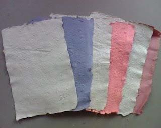 Membuat Kertas Daur Ulang