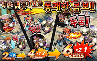ONE PIECE TREASURE CRUISE Korean Apk v3.0.2 Mod (God Mode/High Attack)