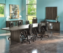 Mayline Aberdeen Gray Steel Conference Furniture